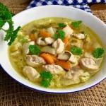 Zupa kurczakowa