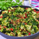 Kaszotto z warzywami...