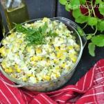 Szybka salatka jajeczna