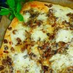 Pizza bianca z...