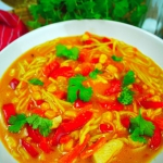 Tajska zupa z kurczakiem...