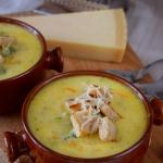 Zupa serowo-brokulowa