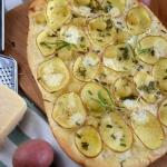 Pizza z ziemniakami i...