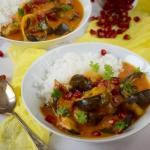 Pikantne żółte curry...