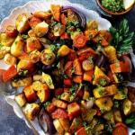 Pieczone warzywa...