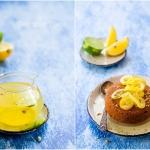 Ciasto sezamowe z syropem...