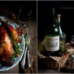 Kurczak pieczony w winie...