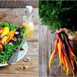 Salatka z pieczona marche...