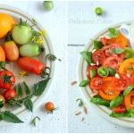 Salatka z pomidorow z sos...