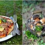 Pizza z borowikami