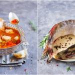 Zupa rybna z pomidorami...
