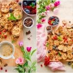 Mini pancakes z...