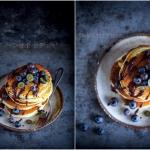 Pancakes na zsiadłym...