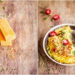 Ziołowy omlet z...