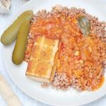 Tofu w sosie wegierskim