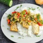 Filety z tofu w kremowym ...