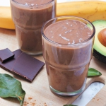 Kakaowe smoothie z awokad...