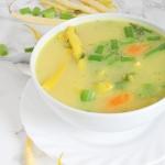 Zupa jarzynowa z fasolka