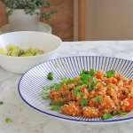 Kasza bulgur z pistacjami