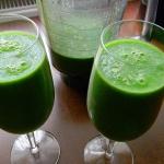 Bardzo zielony koktajl z ...