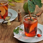 Jesienna herbata z pigwa