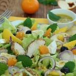 Sezamowa salatka z kurcza...