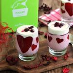 Walentynkowe desery jogur...