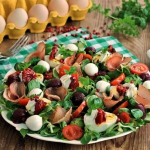 Salatka z jajem i buraczk...