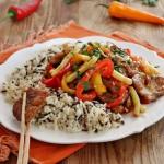 Ryż z warzywami po...