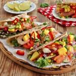 Tacos z łososiem i...