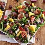 Jesienna salatka z winogr...