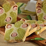 Chleb ze szpinakiem i...