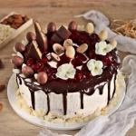 Marcepanowy tort z...