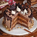 Tort piernikowo...