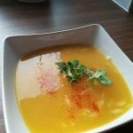 Zupa dyniowa z makaronem